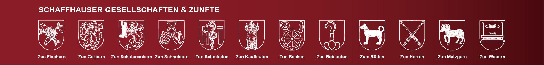 Schaffhauser Gesellschaften & Zünfte